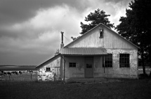 Amish School, south of Kidron