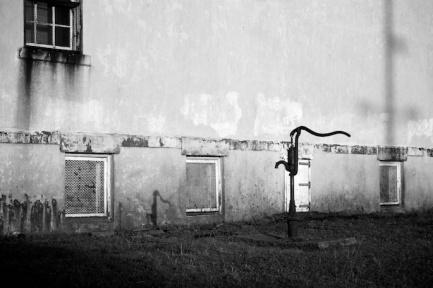 Water Pump, Amish Schoolyard