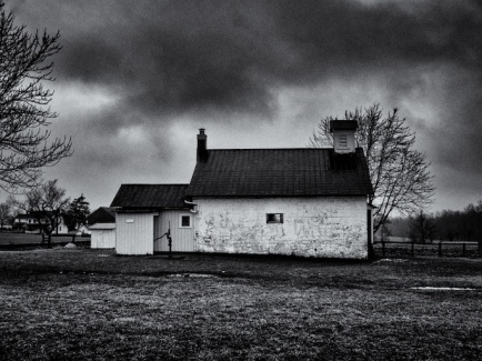Amish Schoolhouse, West of Mt. Eaton