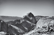 Half Dome, Yosemite, Olmsted Point