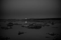 moonrise over mono lake #2
