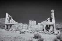 Rhyolite, NV ruins Cook Building