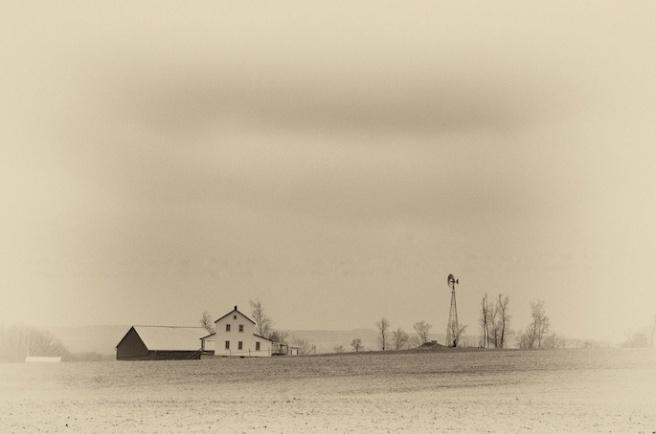 Amish Farm, Clark Road, Wayne County
