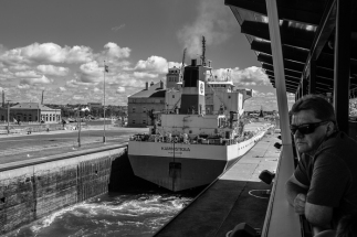 Exiting the MacArthur Lock